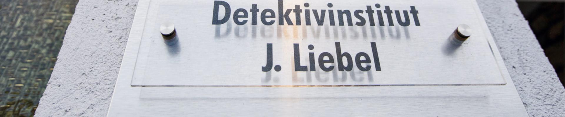 Tuerschild Liebel